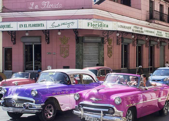 Old Havana. Restaurant Floridita